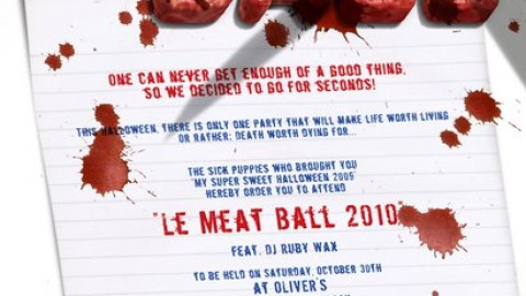 Halloween Partido: Le Meat Ball