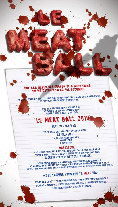 Halloween Partido: Le Meat Ball